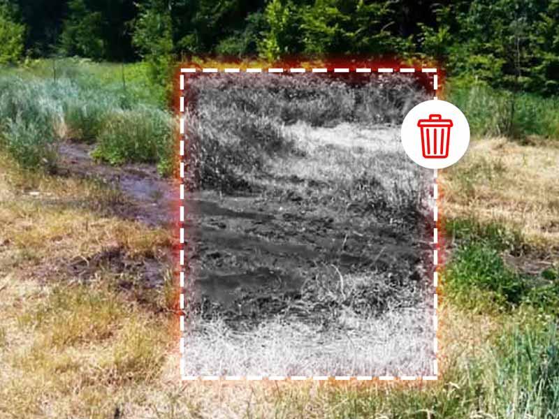 Загрязнение грунта